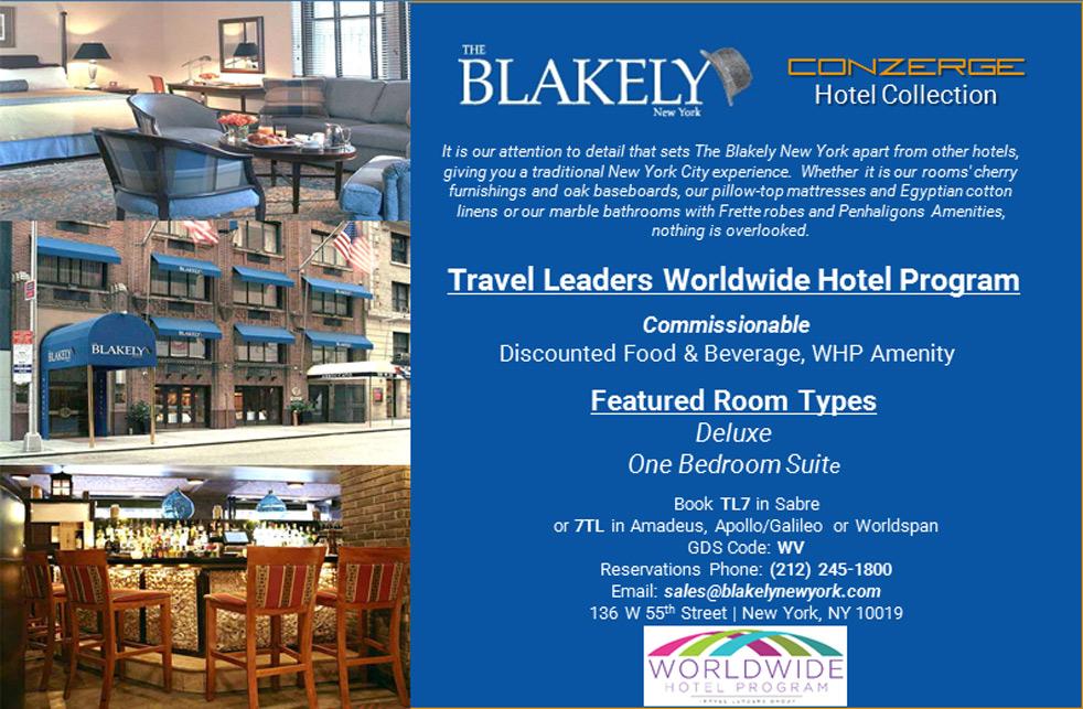Blakely NY Worldwide Hotel Program