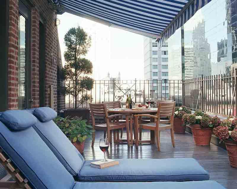 Blakely Penthouse Suite Terrace
