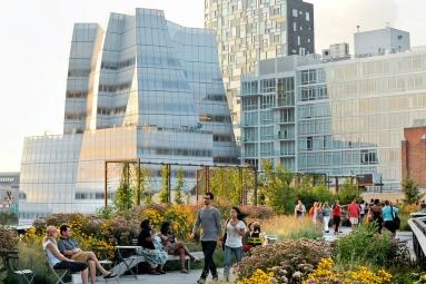 The Highline in Manhattan NYC